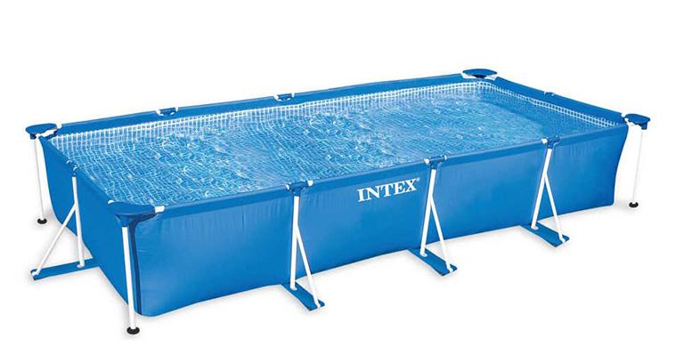 Бассейн Intex каркасный прямоугольный 450 х 220 см
