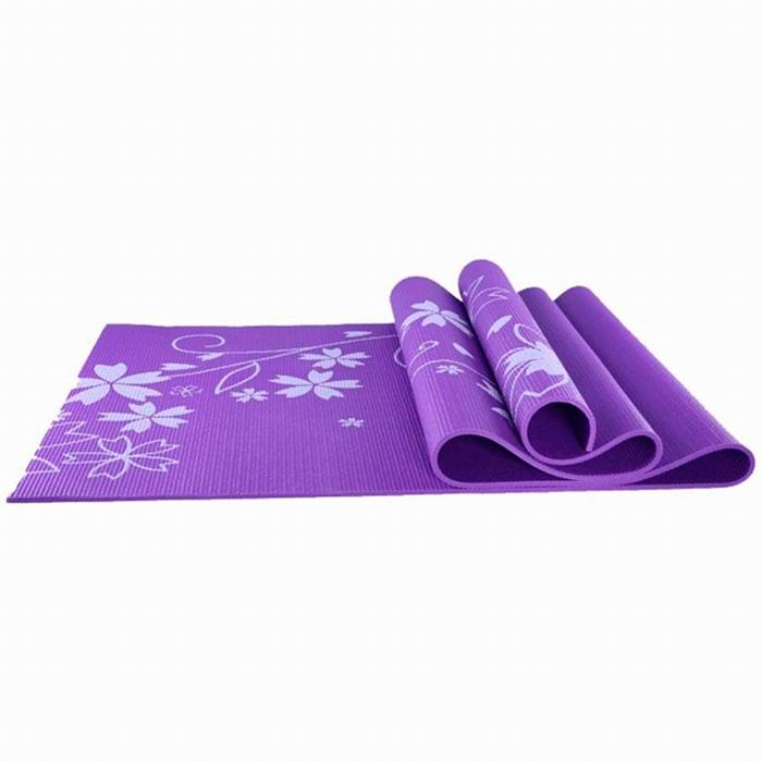 Коврик для йоги и фитнеса Lite Weights 173 х 61 х 0,4 см Фиолетовый