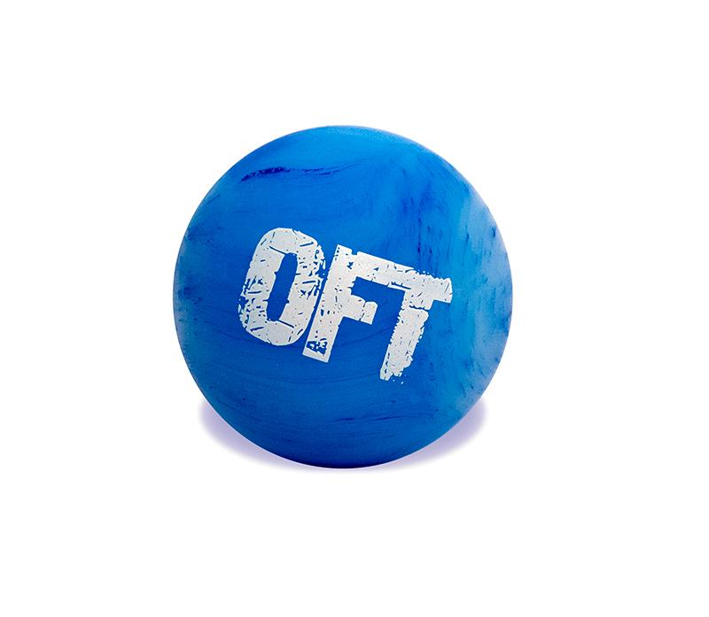 Мяч (шар) массажный для МФР одинарный 6,25 см OFT Silicone