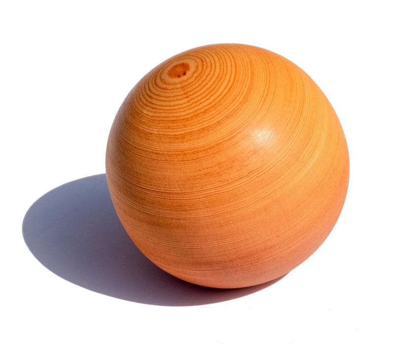 Мяч (шар) массажный для МФР из лиственницы 7 см OFT