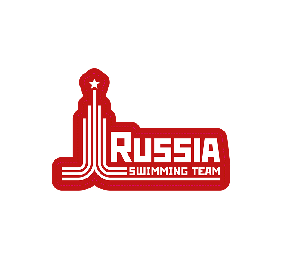 "Наклейка Proswim ""Russia Swimming Team"""