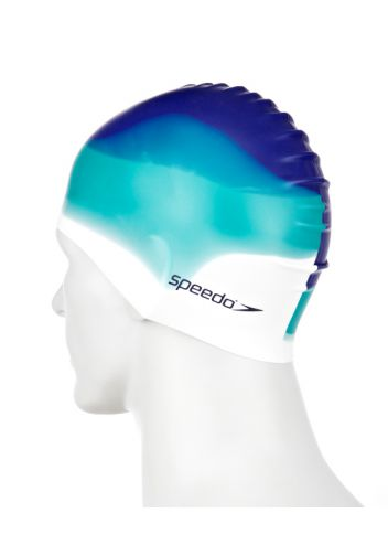 Speedo Шапочка для плавания Multi Colour Silicone Cap