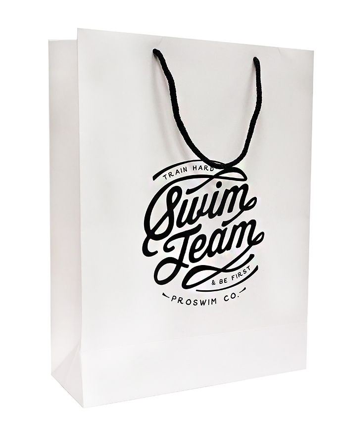 Пакет подарочный Swim Team (40 х 30 х 12 см)