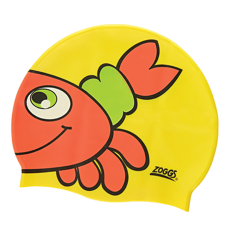 Шапочка для плавания детская ZOGGS Character Silicone (6-14 лет)