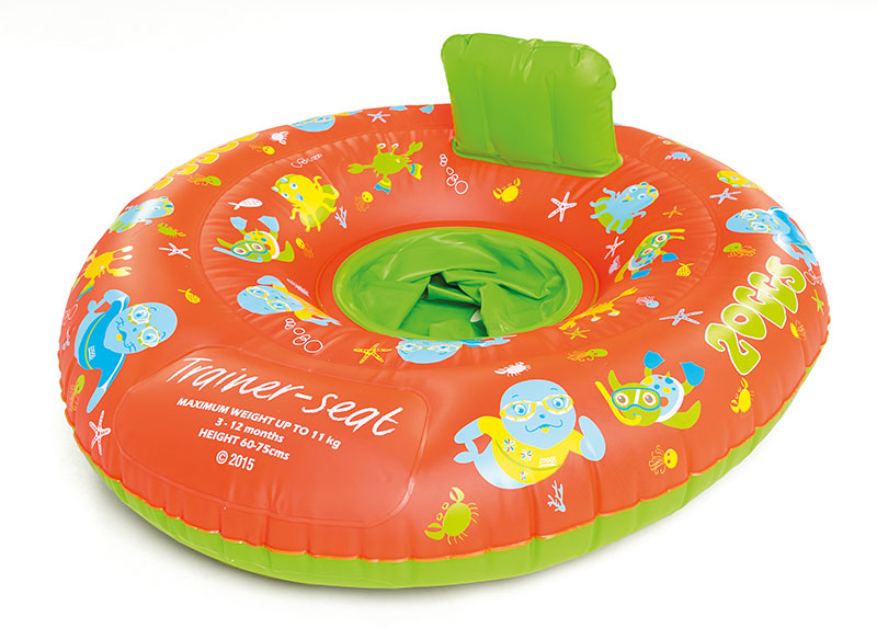 Круг надувной детский ZOGGS Zoggy Trainer Seat (3-12 месяцев)