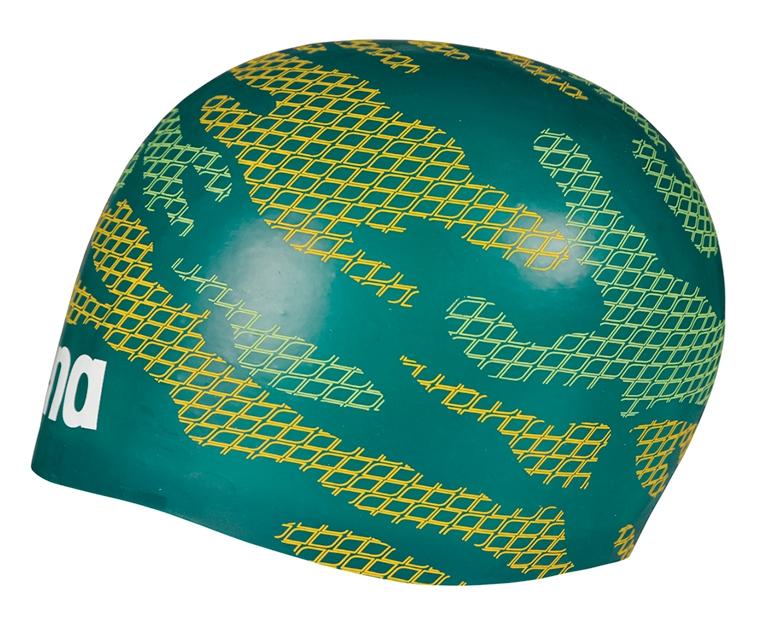 Шапочка для плавания Arena Poolish Moulded Khaki