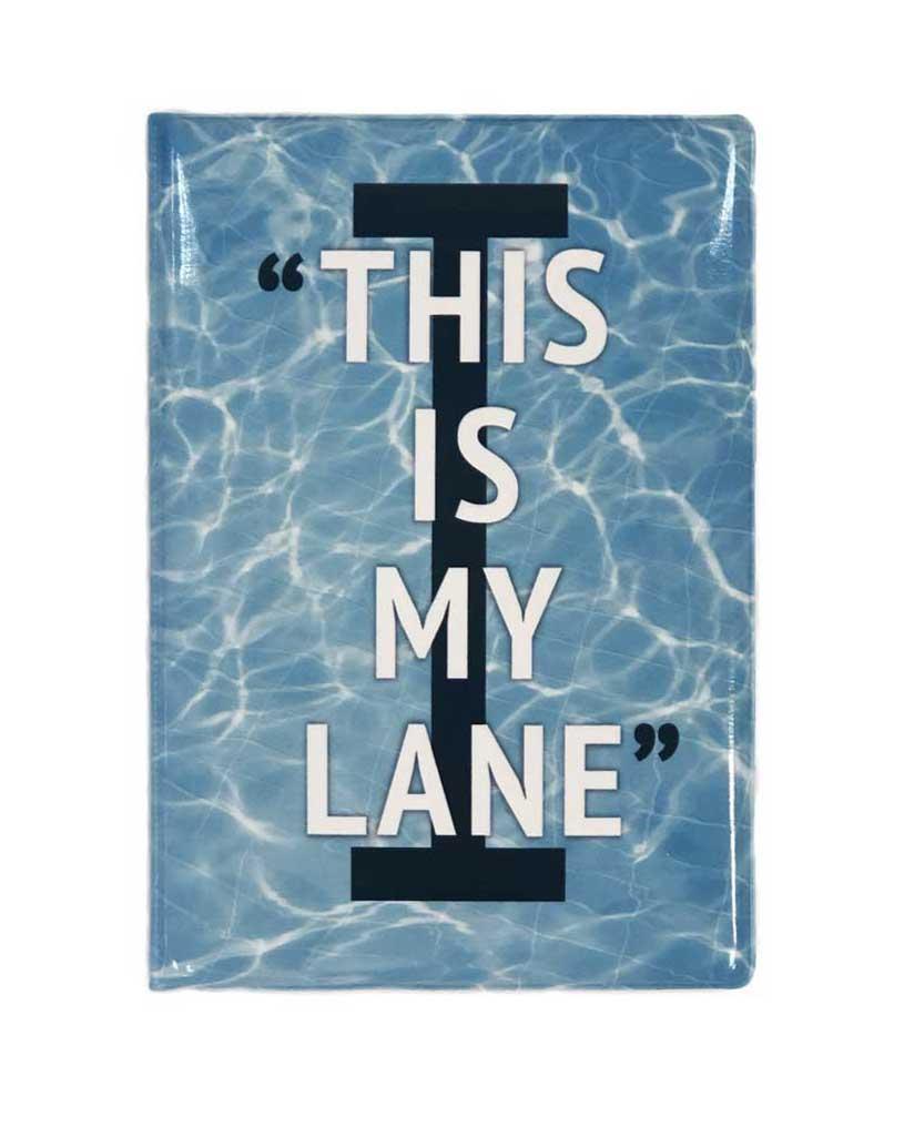 Обложка (чехол) для паспорта Proswim This Is My Lane
