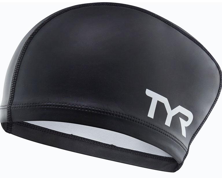 Шапочка для плавания (для длинных волос) TYR Long Hair Silicone Comfort Swim Cap