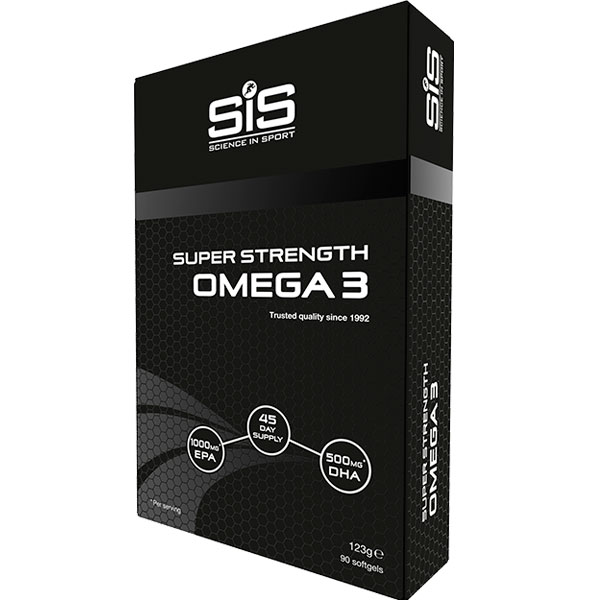 Витамины SiS Omega 3 Super Strength, 123 грамма (90 капсул)