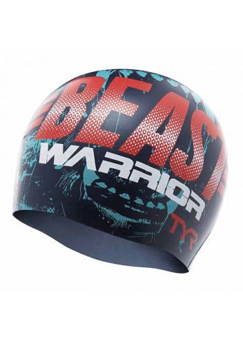 Шапочка для плавания TYR Beast Warrior Swim Cap