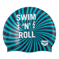 Шапочка для плавания детская Arena Print Junior (6-12 лет)