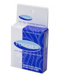 Салфетки-антифог (для защиты очков от запотевания) FOGGIES , 6 шт