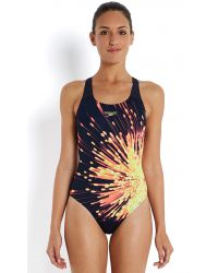 Speedo Купальник Citrusburst Placement Powerback