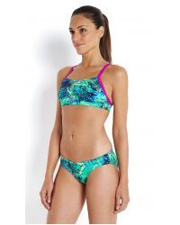 Speedo Купальник раздельный Junglewave Allover Rippleback AW16