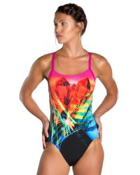 Speedo Купальник Prismstorm Placement Digital Rippleback