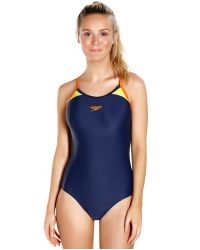 Купальник слитный Speedo Splice Thinstrap Racerback SS17
