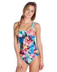 Speedo Купальник Clash Attack Double Crossback