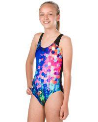 Купальник слитный детский Speedo Placement Digital Splashback Swimsuit