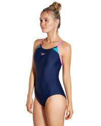 Купальник слитный Speedo Splice Thinstrap Racerback