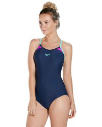 Купальник слитный Speedo Splice Thinstrap Racerback SS18