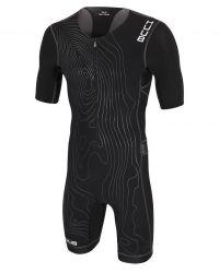 Стартовый костюм для триатлона с велопамперсом мужской (трисьют) HUUB Norseman X-Treme Trisuit