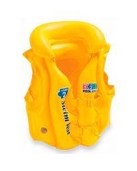 Жилет для плавания детский Intex Deluxe Swim Vest Pool School Step 2 (3-6 лет)
