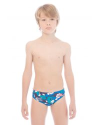 Плавки детские Arena Camo Kun Brief Junior