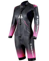Гидрокостюм для свимрана женский со съемными рукавами (свимскин) Aqua Sphere Swim&Run Wetsuit, 3.5/3/2/1.5 мм