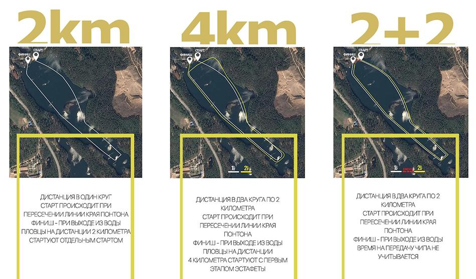 /><br /><br /><br /></p> <p><strong>Место проведения:</strong></p> <p>Загородный курорт Аврора-клуб расположен в 70 км от Санкт-Петербурга (поселок Поляны, Зеленогорск). Это место находится в уникальном районе Семиозерья, знаменитом своими кристально чистыми озерами и сосновым лесом. Высокоразвитая инфраструктура клуба позволит отлично провести время как спортсменам, так и их болельщикам! А чистота и прозрачность озера, поддержанная отсутствием бензиновых плавательных средств при установке и контроле дистанции не оставят никого равнодушными!<br /><br /><br />Все подробности и регистрация – на сайте<a href=