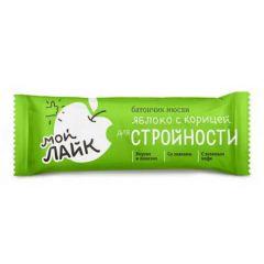 """Батончик мюсли Tekmar Мой Лайк """"Яблоко с корицей для стройности"""", 25 грамм"""