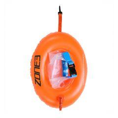 Буй безопасности с карманом для плавания на открытой воде ZONE3 Swim Safety Buoy Dry Bag Donut (28 л)