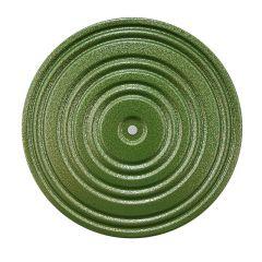 Диск здоровья металлический зеленый Torres 28 см