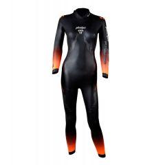 Гидрокостюм для триатлона и открытой воды женский Phelps Pursuit 2.0 (неопрен 2-4 мм)