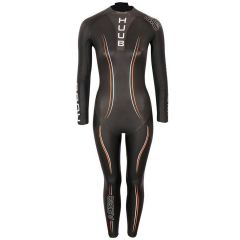 Гидрокостюм для триатлона утепленный женский HUUB Aegis Thermal Wetsuit, 3/5 мм