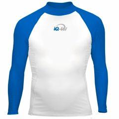 Гидромайка для плавания мужская с длинными рукавами  iQ UV 300+