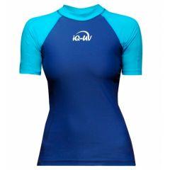 Гидромайка для плавания женская iQ UV 300+ Blue