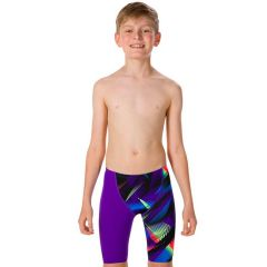 Гидрошорты детские Speedo Junior Endurance+ Fastskin High Waist Jammer  Purple