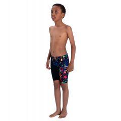Гидрошорты детские Speedo Junior Fastskin Endurance+ High Waisted Jammer SS20 (высокая талия)