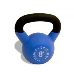 Гиря обрезиненная OFT 8 кг (1 шт) Blue