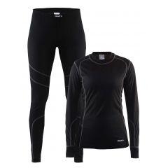 Комплект термобелья женский Craft Baselayer (рубашка+брюки)