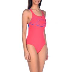 Купальник слитный Arena Essentials Swim Pro Back