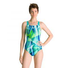 Купальник слитный Arena Shading Prism Swim Pro Back