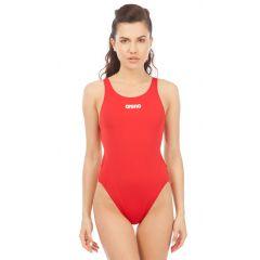 Купальник слитный Arena Solid Swim Tech High