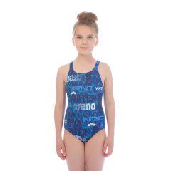 Купальник слитный детский Arena Evolution Swim Junior