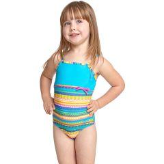 Купальник слитный детский ZOGGS Girls Rainbow Sahara Classicback