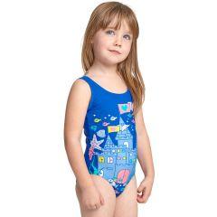 Купальник слитный детский ZOGGS Girls Undersea Scoopback