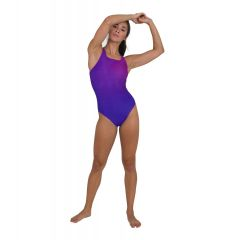 Купальник слитный Speedo Placement Medalist Swimsuit Violet