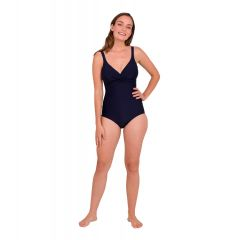 Купальник утягивающий с чашечками Speedo Brigitte Swimsuit Navy