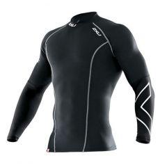 Мужская компрессионная термо-футболка 2XU Thermal Long Sleeve Compression Top