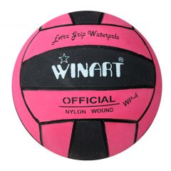 Мяч для водного поло Winart Stripped Pink (размер 4)